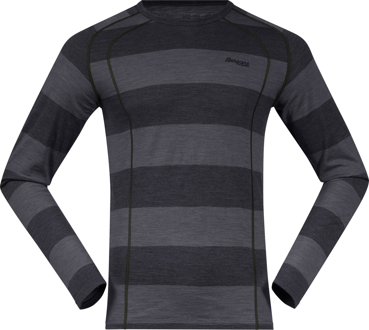Bergans Fjellrapp LS Top Men, charcoalgrey
